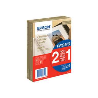 C13S042167 – Epson Premium Glossy Photo Paper BOGOF