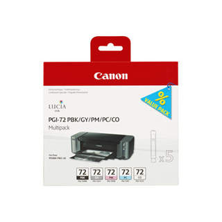 6403B007 – Canon PGI-72 PBK/GY/PM/PC/CO Multipack