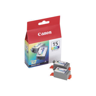 8191A002 – Canon BCI-15 Colour Twin Pack