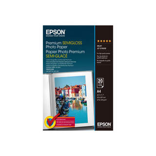 C13S041332 – Epson Premium Semigloss Photo Paper
