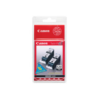 2932B012 – Canon PGI-520BK Twin Pack