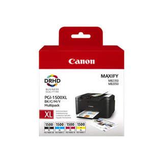 9182B004 – Canon PGI-1500XL C/M/Y/BK Multipack