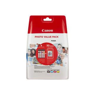 2106C005 – Canon CLI-581 C/M/Y/BK Photo Value Pack