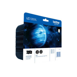 LC1280XLBKBP2DR – Brother LC1280XL Twin-Pack
