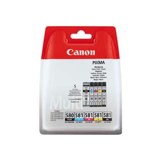 2103C005 – Canon CLI-581 BK/C/M/Y Multi Pack