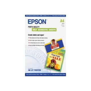 C13S041106 – Epson Photo Quality Self Adhesive Sheets