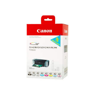 6384B010 – Canon CLI-42 BK/GY/LG/C/M/Y/PC/PM Multipack