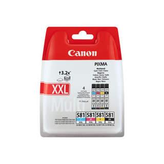 1998C005 – Canon CLI-581XXL C/M/Y/BK Multi Pack