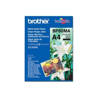 BP60MA – Brother BP 60MA Matte Inkjet Paper