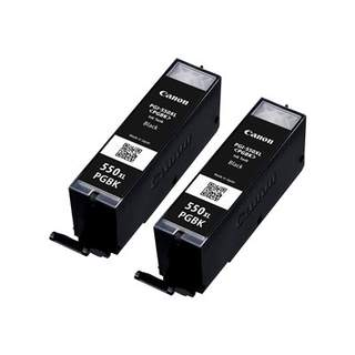 6431B005 – Canon PGI-550PGBK XL Twin pack
