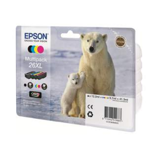 C13T26364020 – Epson 26XL Multipack