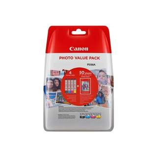 0386C006 – Canon CLI-571 C/M/Y/BK Photo Value Pack