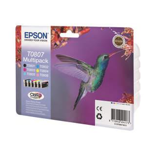 C13T08074011 – Epson T0807 Multipack